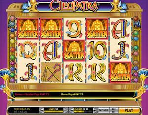 Juegos de casino gratis slots cleopatra